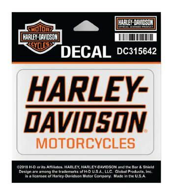 Harley-Davidson Traction H-D Decal, SM Size - 3.75 x 2.1875 in. DC315642