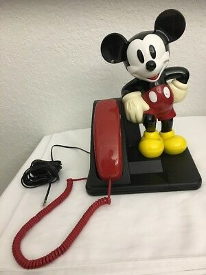 The Walt Disney Company Mickey Mouse Telephone Phone Handset At&t
