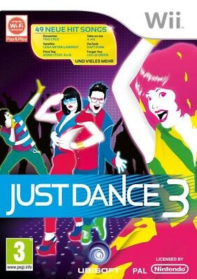 Nintendo Wii game - Just Dance 3 UK boxed