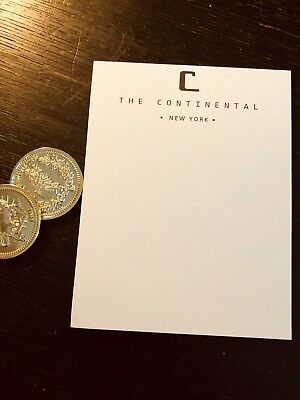 John Wick Continental Hotel Note Pad!!