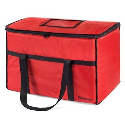Homevative Nylon Insulated Food Delivery and Reusable Grocery Bag - For Catering