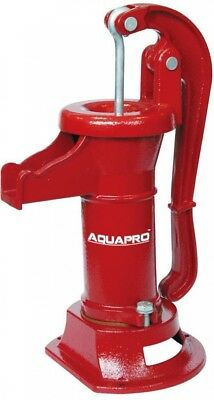 AquaPro Pitcher Pump Well Drive Point Water Cast Iron Heavy Duty Adjustable Cap