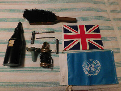 British Army ~ Daimler Ferret ~ CES ITEMS, TOOLS, BRUSH, FLAGS - SOME NOS