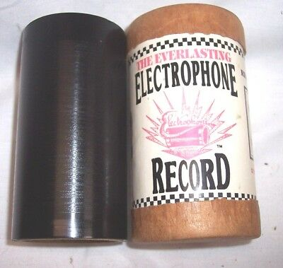 """Rare 2 MINUTE  Electrophone Indestructible Record """" EDISON ADVERTISING RECORD """""""
