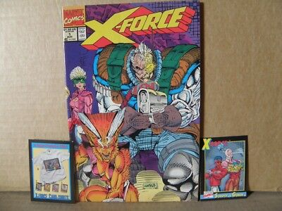 X-Force # 1 - 1991 - Marvel Comics - Includes bonus card VERY GOOD TO FINE