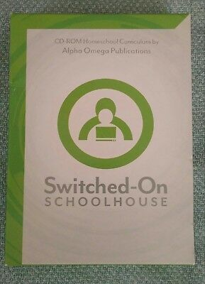 Switched on Schoolhouse 9th And 10th Grade with installation Disks