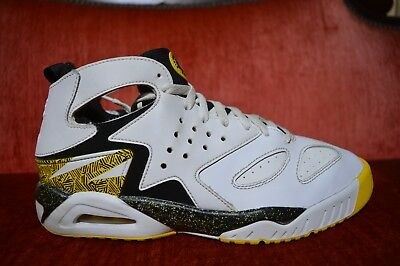 reputable site 8dde5 ac4f5 Nike Air Tech Challenge Huarache Run 630957-100 Tour Yellow Shoes Size 8.5