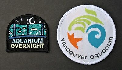 Girl Guides Canada 2 B.c. Vancouver Aquarium  Overnight Patches Brownies