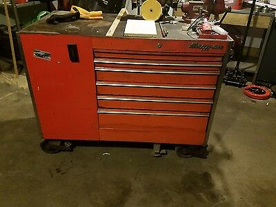 Awesome Vintage Snap On Tool Box And Bench Grinder Local 06513 Uwap Interior Chair Design Uwaporg