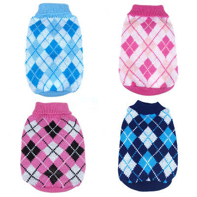 USA Small Medium Large Dogs Pet Dog Sweater Puppy Knit Warm Clothes Coat Apparel