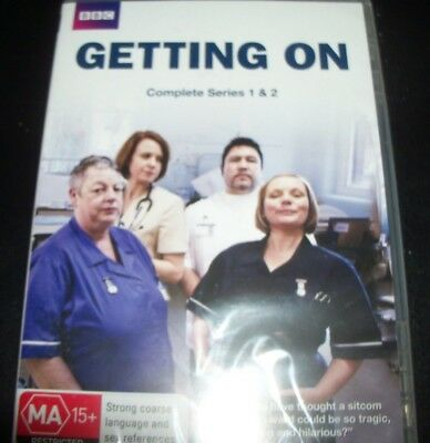 Getting On Complete Series One & Two 1 & 2 BBC (Australia Region 4) DVD - New