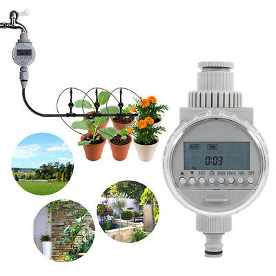 Solar Energy Automatic Drip Irrigation System Sprinkler Water Timer Controller