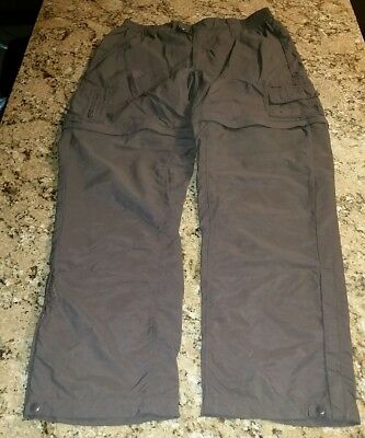 Columbia Titanium Packable Convertible Pant Cargo Shorts Womens Size M Medium