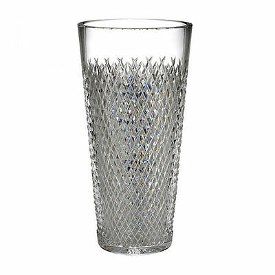 "Waterford Alana Crystal 12"" Vase   NEW -MADE IN IRELAND"