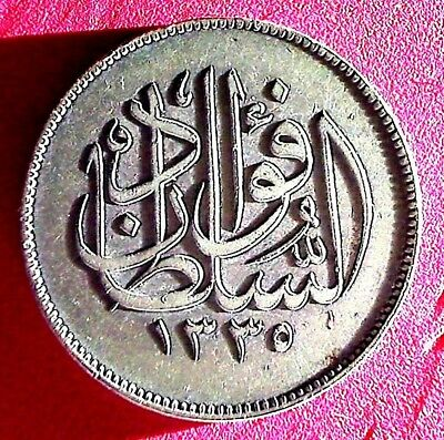 1920 10 Piaster Sultan Hussein Its Vf ,,a Real Vf Grade