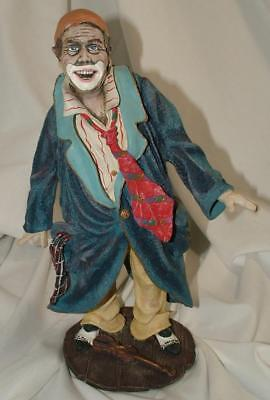 Duncan Royale AUGUSTE History of Clown Rare Collectors Ed Sculpture Figurine
