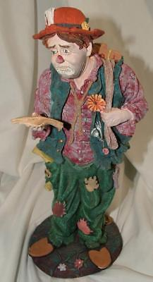 Duncan Royale TRAMP History of Clown Rare Collectors Edition Sculpture Figurine
