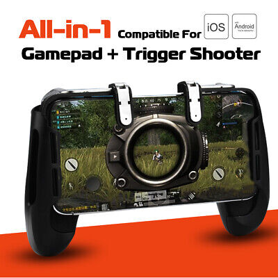 AU Mobile Gaming Gamepad Controller Trigger Fire L1R1 Button Shooter For PUBG