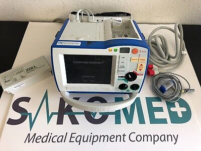 ZOLL R Series ALS ECG, Pacing, AED & Co2/ REFURBISHED