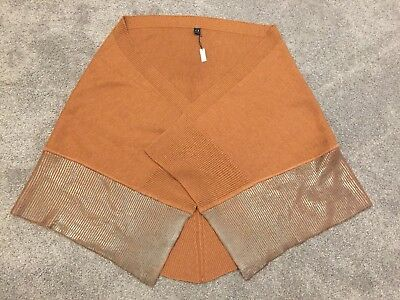 MIMCO Wool Wrap, Brand New With Tag, Perfect Condition, Rust Colour,RRP was $179