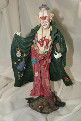 Duncan Royale AMERICAN History of Clown Rare Limited Edition Sculpture Figurine