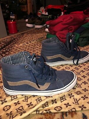 23c852436f5c13 NEW VANS SK8-HI Del Pato MTE Monochromatic Black Shoes Men s Sz 10 ...