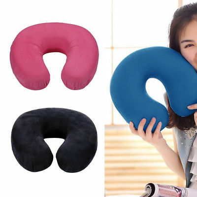 Memory Foam U Shaped Neck Pillow Travel Support Head Rest Cushion Portable Hot