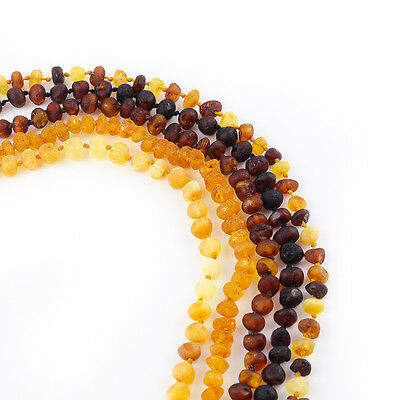 Family Amber Necklace's | Unpolished Amber Necklace | Raw Amber Necklace
