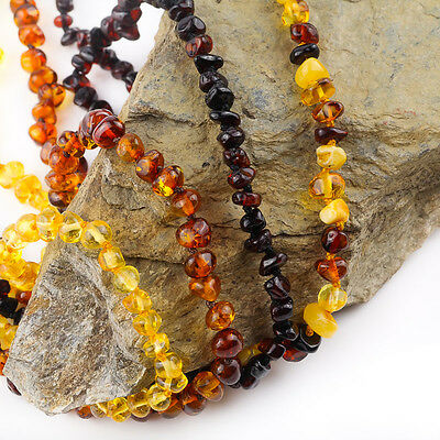 Family Amber Necklace's | Semi-round Amber Beads | Pure Baltic Amber