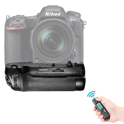 Neewer LCD Display Wireless Battery Grip Replacement for MB-D17 for Nikon D500