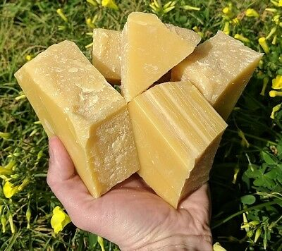 100% Pure Australian Organic Beeswax 100-110 grams Food Wrap Candle Bees Wax