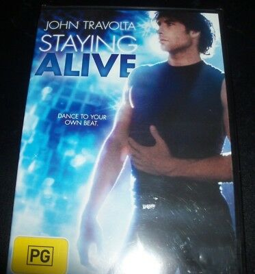 Staying Alive (John Travolta) (Australia Region 4) DVD – New