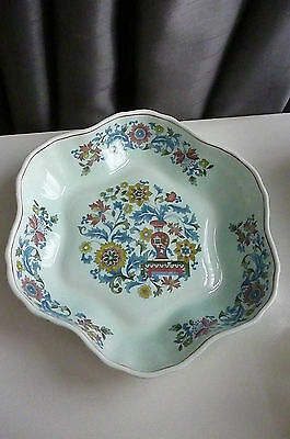 Pottery, Porcelain & Glass Pottery Blue Calyx Ware China Adams Wedgwood Group Serving Dish