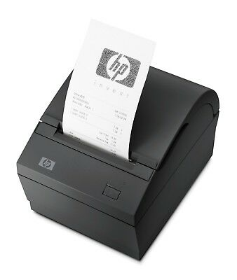 HP Dual Serial USB Thermal Receipt Printer with Power Adapter for POS System