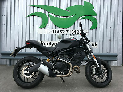Ducati MONSTER 797 + DARK 2017 '17' ** ONLY 562 MILES FROM NEW! **