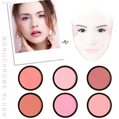 Blusher for FOCALLURE 6 Color Makeup Face Dating Rouge