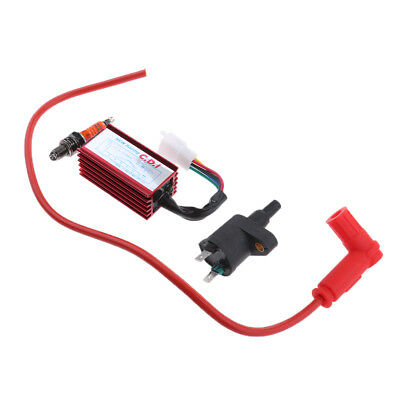 High Performance Pit Dirt Bike ATV Scooter Racing Ignition Coil CDI 5 Pin