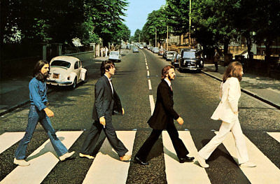 The Beatles The Abbey Road Music Art Poster Print 24'' 36'' 48''
