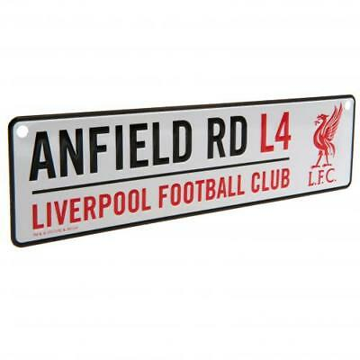 Liverpool Window Sign Anfield Road LFC Gift Official Licensed Football Product