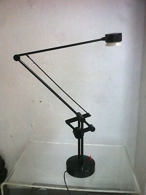 Vintage Industrial Articulated Desk Lamp Valentina, by Valenti, Italy, 1980s
