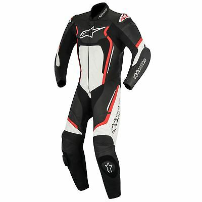 Alpinestars Motegi V2 1 Piece Leathers Black/Red/White - Size UK 42/Eur 52