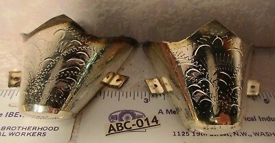 SILVER ALPACA Western Boot Tips Pointed Toe Western Cowboy Boots Hand Engraved