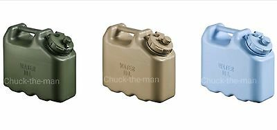 SCEPTER MILITARY WATER CANS Jerry Container Camping Survival Emergency 10L