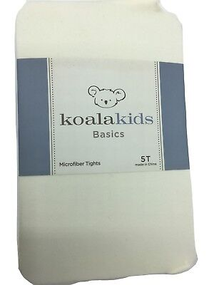Koala Kids Basics Ivory Microfiber Tights - 6-12M to 5T New Free Shipping
