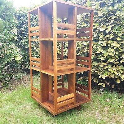 Rosewood mid century  Danish  revolving bookcase in excellent condition.