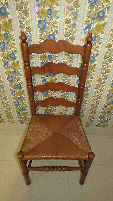 Tell City Hard Rock Andover Maple Ladderback Chair 2312 Cosmetic Wear
