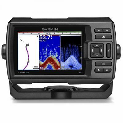 Garmin STRIKER 5dv Marine Fishfinder With DownVu Transducer 010-01552-01