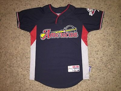 236468efc74 2009 American League Majestic MLB All-Star Game St. Louis Jersey - Youth  Medium