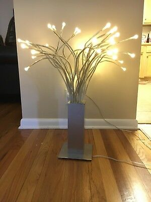 Ikea Stranne Led Table Lamp Brushed Stainless Steel
