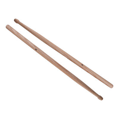 1 Pair 5A Maple Drum Sticks Wood Wooden For Band Musical Instrument Drumsticks